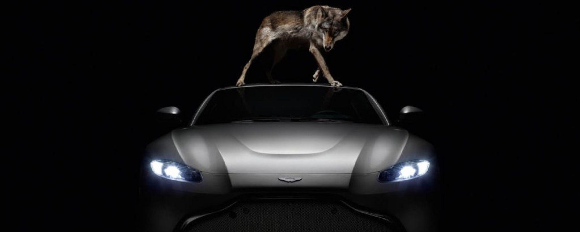 Nuova Aston Martin V8 Vantange: evoluzione totale [VIDEO]
