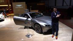 Nuova Aston Martin V8 Vantage: in video dal Salone di Ginevra 2018 - Immagine: 1