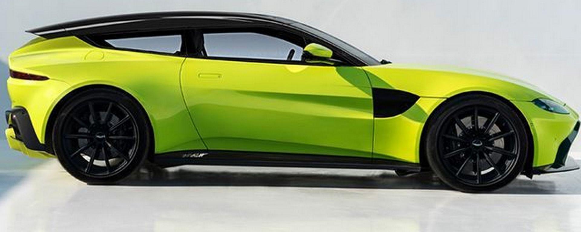 Aston Martin Vantage: ora vogliamo la shooting brake