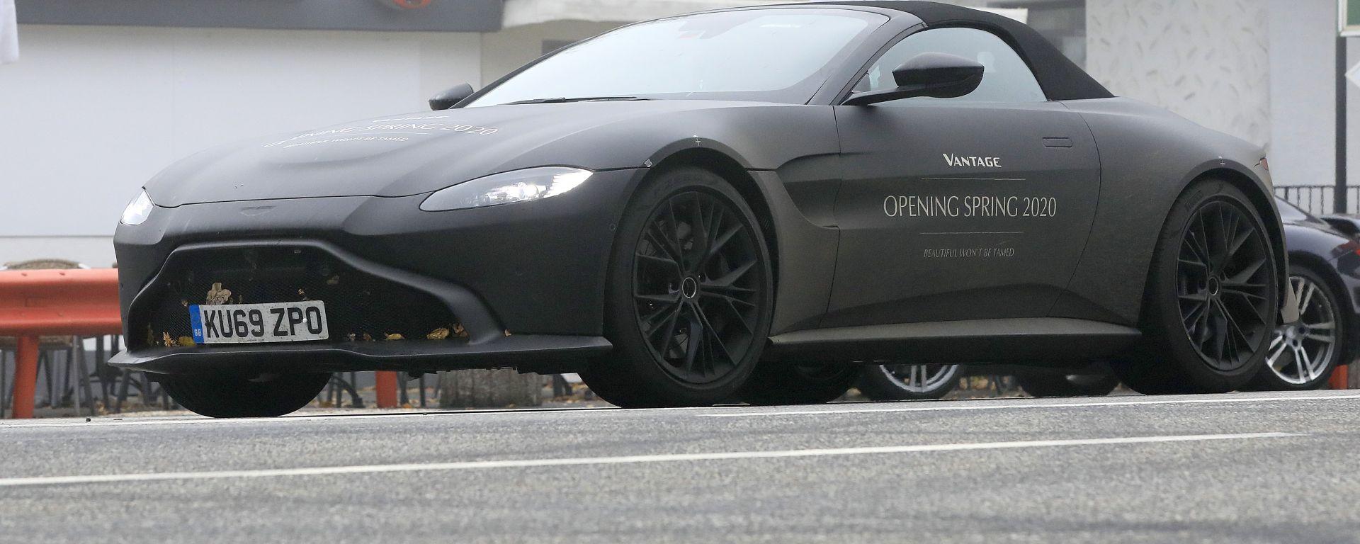 Nuova Aston Martin Vantage Volante: in arrivo la decappottabile inglese