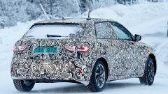 Nuova  Audi A1 2018: dettaglio della fanaleria