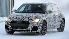 Nuova  Audi A1 2018: il nuovo taglio dei fari