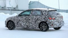 Nuova  Audi A1 2018: vista laterale