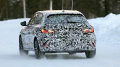 Nuova  Audi A1 2018: vista posteriore