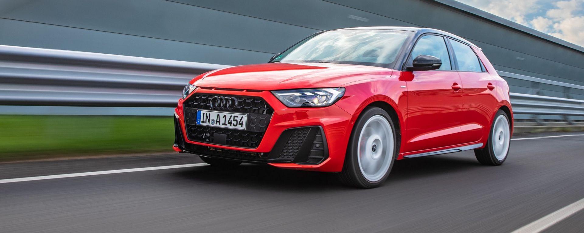 Nuova Audi A1: la baby dei Fab-Four