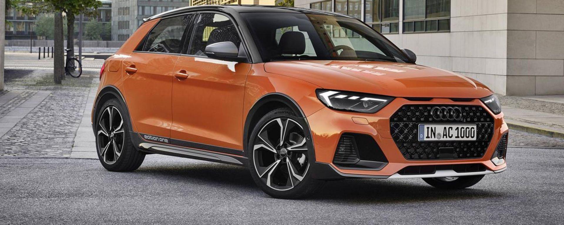Nuova Audi A1 citycarver: 3/4 anteriore