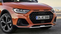 Nuova Audi A1 citycarver: dettaglio frontale