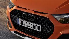 Nuova Audi A1 citycarver: dettaglio griglia frontale