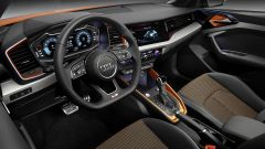 Nuova Audi A1 citycarver: gli interni