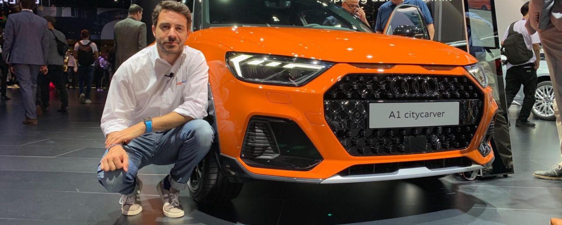 Audi A1 Citycarver, in video dal Salone di Francoforte 2019