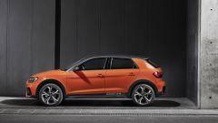 Nuova Audi A1 citycarver: vista laterale