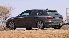 Nuova Audi A3 2020: profilo cromato lungo la carrozzeria, sara così?