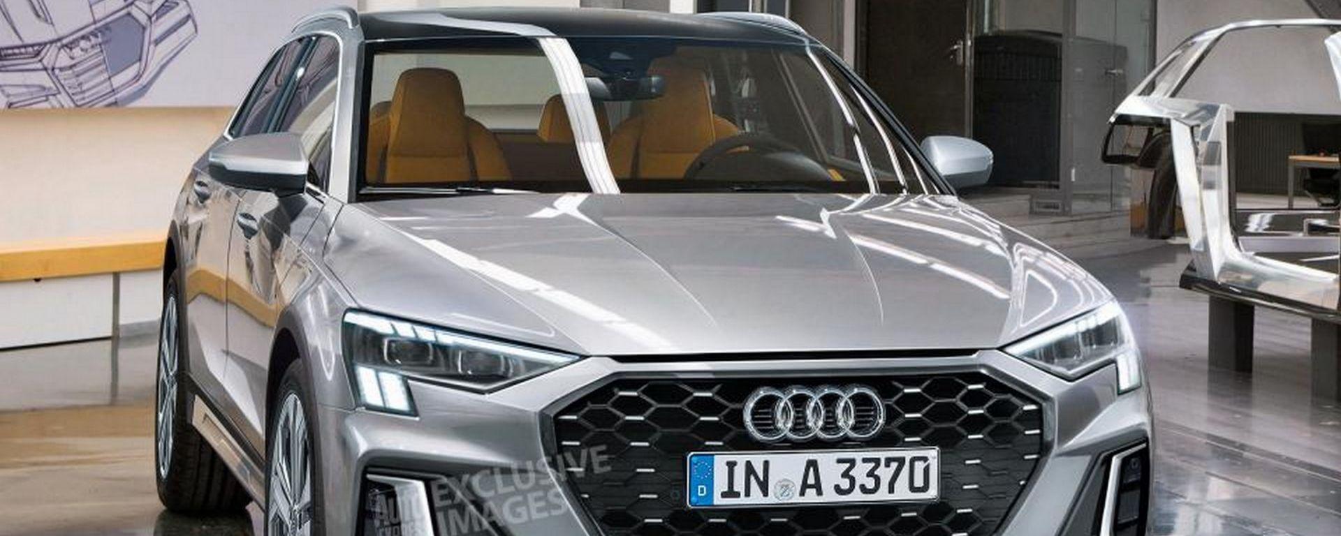 Nuova Audi A3 Cityhopper: la nuova A3 sarà un crossover?