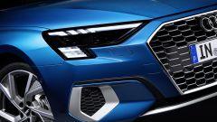 Nuova Audi A3, fari anteriori Digital Matrix LED