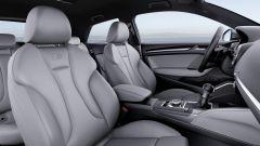 Nuova Audi A3: i sedili anteriori