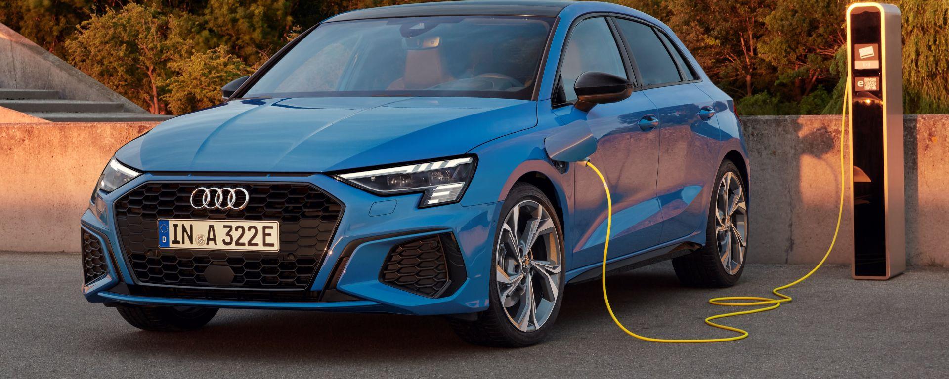 Audi A3 Sportback TFSI e, via alla prevendita di A3 plug-in