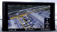 Nuova Audi A3: il navigatore con grafica fotorealistica nel display da 7 pollici al centro della plancia