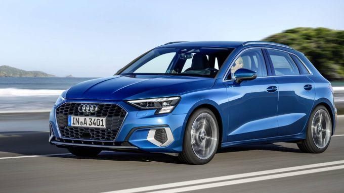 Nuova Audi A3, prezzi da 29.100 euro