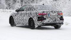 Nuova Audi A3 Sedan: vista 3/4 posteriore