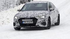 Nuova Audi A3 Sedan: vista frontale