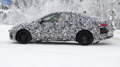 Nuova Audi A3 Sedan: vista laterale