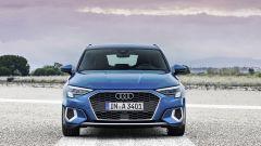 Nuova Audi A3 Sportback 2020, il frontale