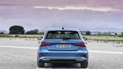 Nuova Audi A3 Sportback 2020, il posteriore