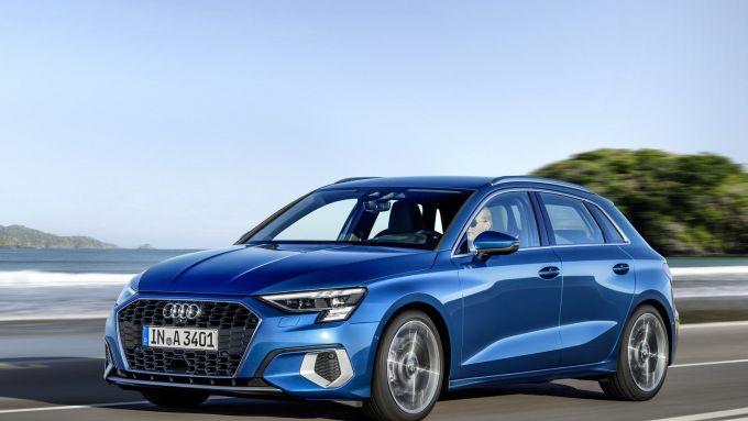 Nuova Audi A3 Sportback: grande equilibrio fra prestazioni e comfort
