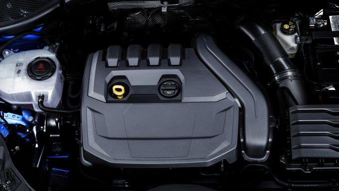 Nuova Audi A3 Sportback: il vano motore