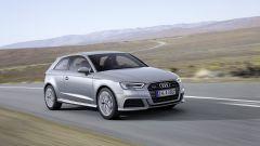 Nuova Audi A3: vista 3/4 anteriore