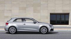 Nuova Audi A3: vista laterale