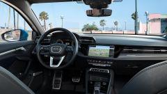 Nuova Audi A34 Sportback 2020: gli interni con il cambio automatico