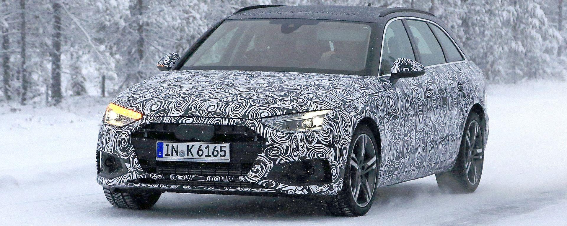 Nuova Audi A4 Avant e Sedan 2020: le prime foto e video