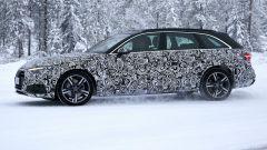 Nuova Audi A4 Avant 2020: la linea del tetto non cambia