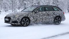 Nuova Audi A4 Avant 2020: vista 3/4 anteriore