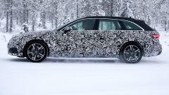 Nuova Audi A4 Avant 2020: vista laterale