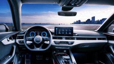 Nuova Audi A4: la plancia della generazione attuale