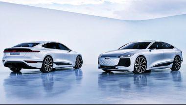 Nuova Audi A4: la versione 100% elettrica sarà simile a questa?