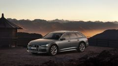 Nuova Audi A5 allroad 2019: archi passaruota in plastica grezza