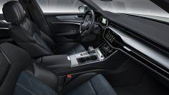 Nuova Audi A5 allroad 2019: i sedili anteriori