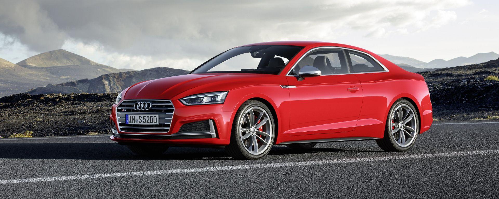 Audi A5 Coupé MY 2017: dotazioni, motori, tecnologia