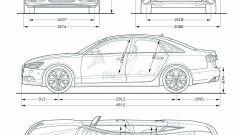 La nuova Audi A6 2011 in dettaglio - Immagine: 70