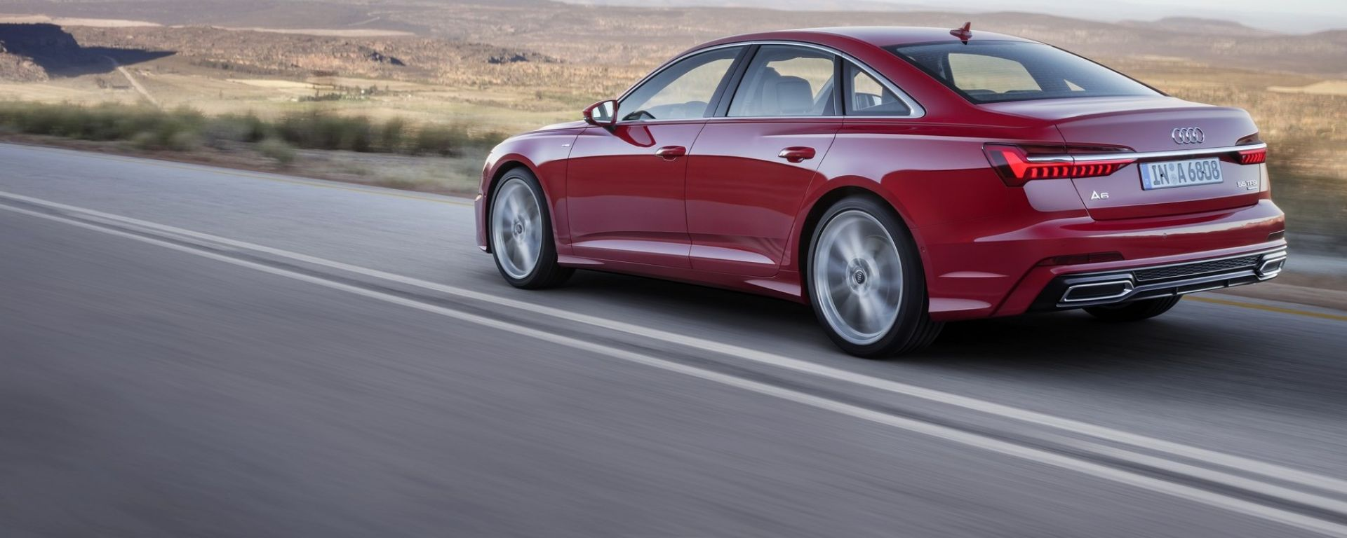 Nuova Audi A6 2018 berlina