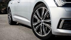 Nuova Audi A6 2018: dettaglio del cerchio