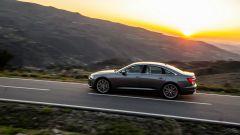 Nuova Audi A6 2018 durante il test drive
