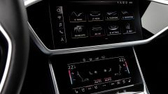 Nuova Audi A6 2018: i due schermi MMI touch response