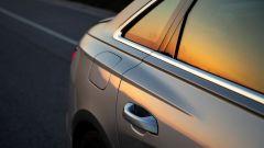 Nuova Audi A6 2018: i fianchi posteriori sono ben marcati