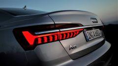 Nuova Audi A6 2018: i gruppi ottici posteriori