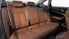 Nuova Audi A6 2018: i sedili posteriori