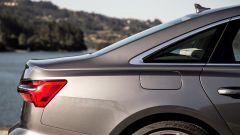 Nuova Audi A6 2018: il taglio del lunotto